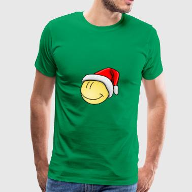 Christmas-holiday-smile-happy - Men's Premium T-Shirt