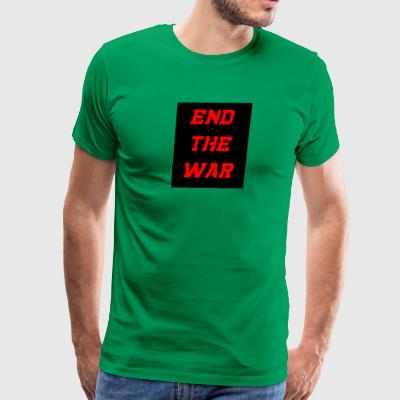 end the war - Men's Premium T-Shirt