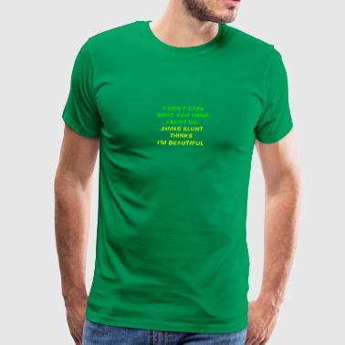 I am beautiful - Men's Premium T-Shirt