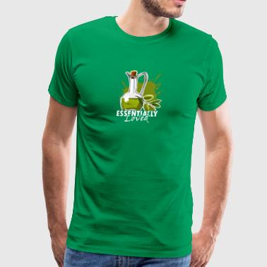 Essential Oil Tee Shirt - Men's Premium T-Shirt