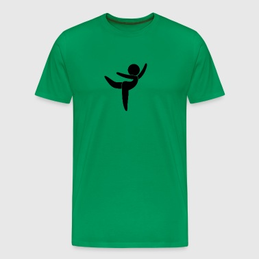 Ballet Dancer - Men's Premium T-Shirt