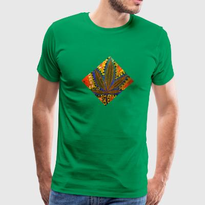 Cannabis on Canvas-Special Edition-Series 1 - Men's Premium T-Shirt