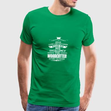 WOODCUTTER - EXCELLENCY - Men's Premium T-Shirt