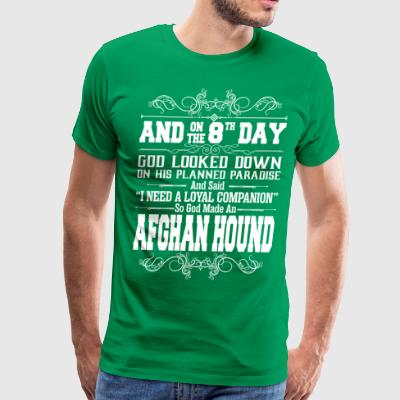 And On The 8th Day God Look Down So God Made An Af - Men's Premium T-Shirt