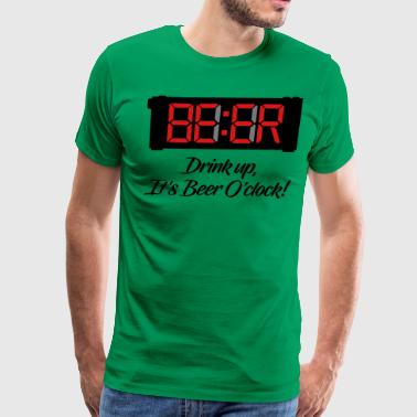 Beer O Clock - Men's Premium T-Shirt