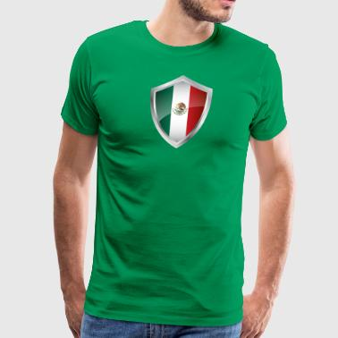 Emblem Mexico - Men's Premium T-Shirt