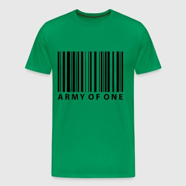 army of one - Men's Premium T-Shirt