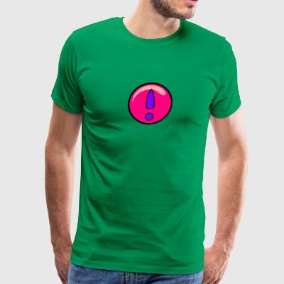 super girly exclamation point - Men's Premium T-Shirt