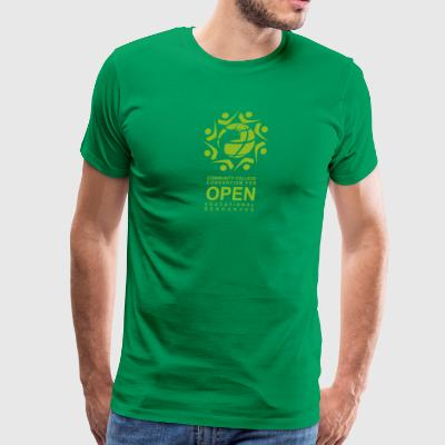 CCCOER (Green) - Men's Premium T-Shirt