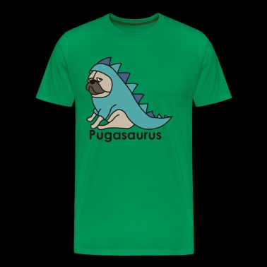 Pugasaurus Funny Cute Animal - Men's Premium T-Shirt