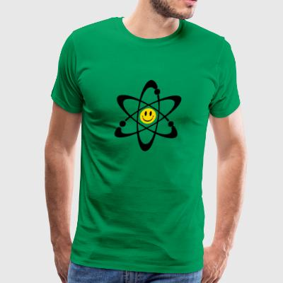 Happy Face Atom Kids T shirt - Men's Premium T-Shirt