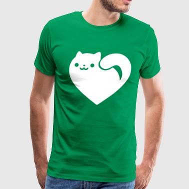 Cats Heart Funny - Men's Premium T-Shirt