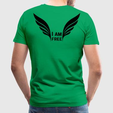 I am free - Men's Premium T-Shirt