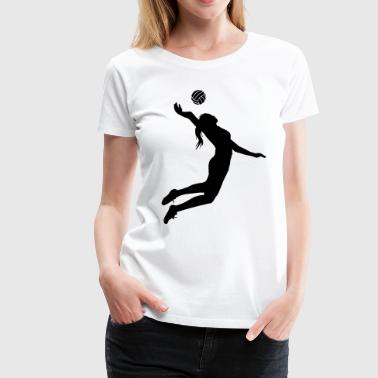 Girls Volleyball - Women's Premium T-Shirt