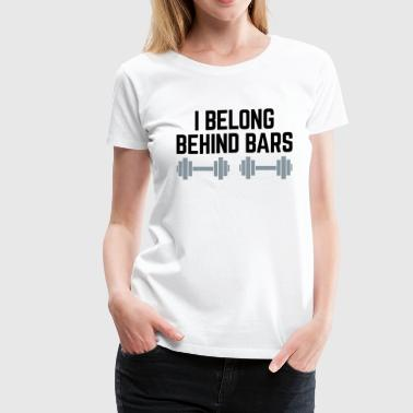 Behind Bars - Women's Premium T-Shirt