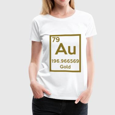 gold (element) - Women's Premium T-Shirt