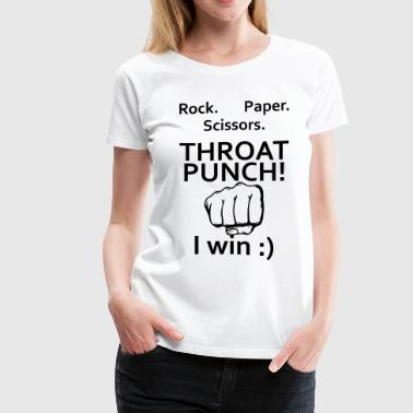 Throat Punch - Women's Premium T-Shirt