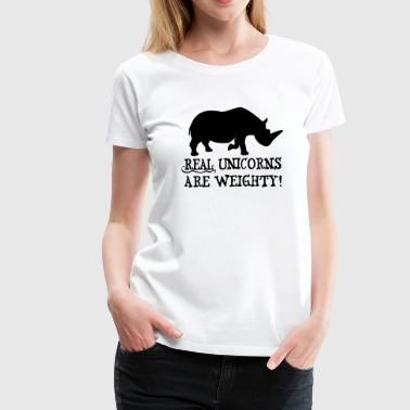 Fat Unicorns - Women's Premium T-Shirt