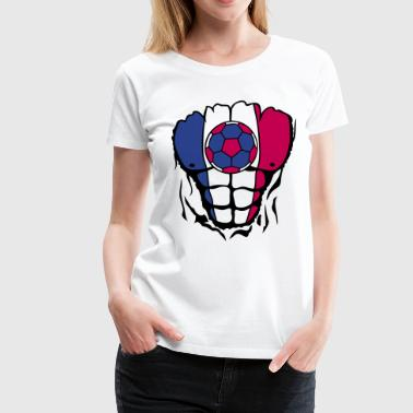 handball flag body torn muscle - Women's Premium T-Shirt