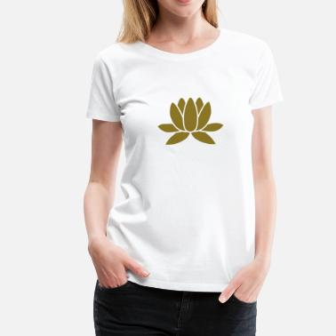 Lotus Blossom Lotus - Women's Premium T-Shirt
