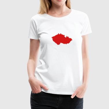 Czech Republic - Women's Premium T-Shirt