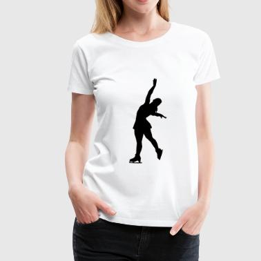 Figure Skating - Women's Premium T-Shirt