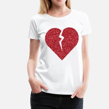 Broken broken_heart - Women's Premium T-Shirt