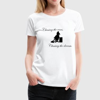 Barrel Racing Horse - Women's Premium T-Shirt