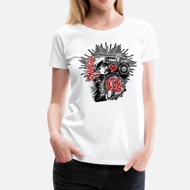 Music Lover - Women's Premium T-Shirt