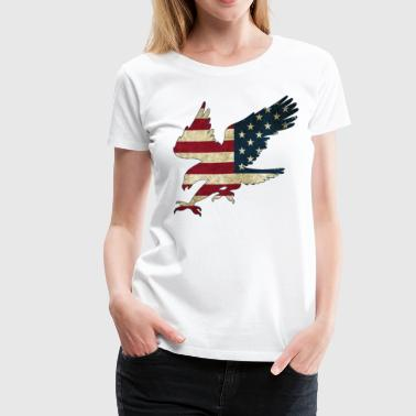 American Bald Eagle - Women's Premium T-Shirt