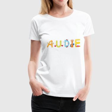 Audie - Women's Premium T-Shirt