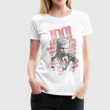 Rebels Billy Idol Women's T-Shirts - Women's Premium T-Shirt