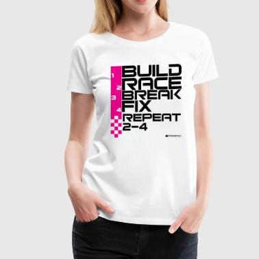 The Race Life - black - Women's Premium T-Shirt