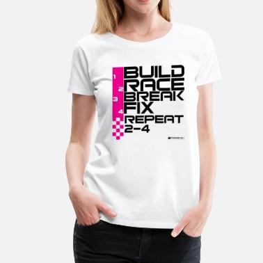 Import Tuner The Race Life - black - Women's Premium T-Shirt