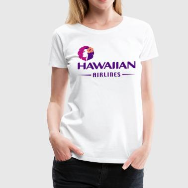 Airline Hawaiian - Women's Premium T-Shirt