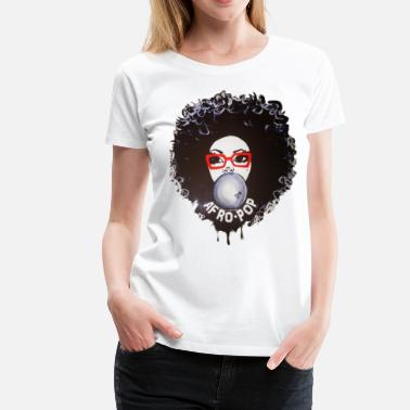 Afro Pop Afro pop_Global Couture Accessories - Women's Premium T-Shirt