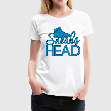 sneaks head - Women's Premium T-Shirt