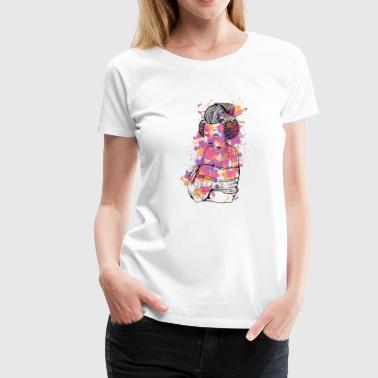 Japanese Girl - Women's Premium T-Shirt