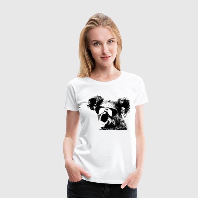 The Shady Koala - Women's Premium T-Shirt