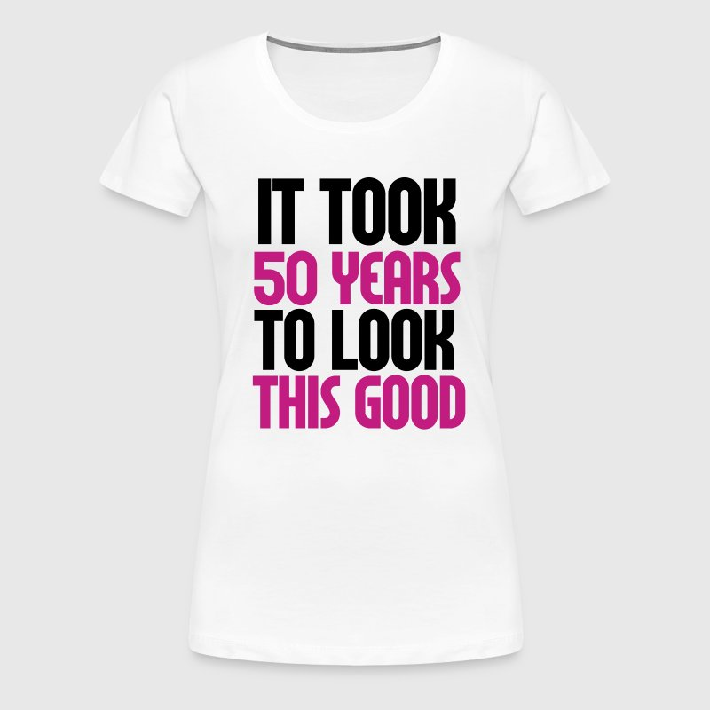 50 years old - Women's Premium T-Shirt