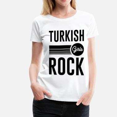 Rock And Roll TURKISH GIRL 1.png - Women's Premium T-Shirt