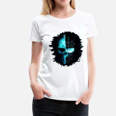 Ghost Null Ghost Soldier.png - Women's Premium T-Shirt
