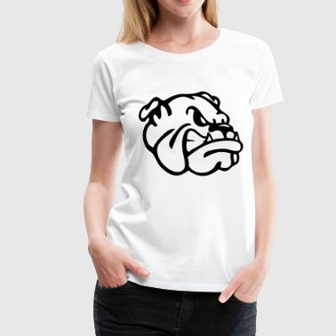 An English Bulldog - Women's Premium T-Shirt