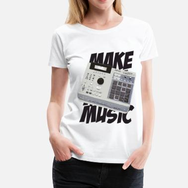 Make Music make music - Women's Premium T-Shirt