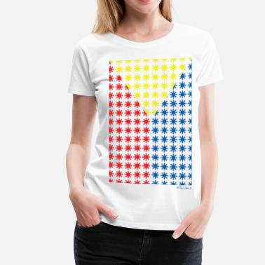 Aireal Philippines Filipino Sun Flag by AiReal Apparel - Women's Premium T-Shirt