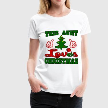 THIS AUNT1.png - Women's Premium T-Shirt