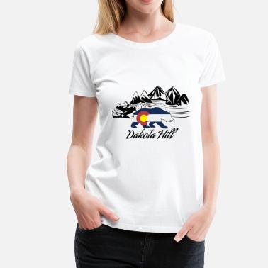 Womens Colorado dakota hill colorado - Women's Premium T-Shirt