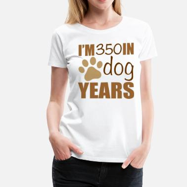 50th Birthday 50th Birthday Dog Years - Women's Premium T-Shirt
