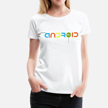 Android Android Lollipop - Women's Premium T-Shirt