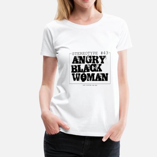 8006b7cd Angry Black Woman Women's T-Shirts Women's Premium T-Shirt   Spreadshirt